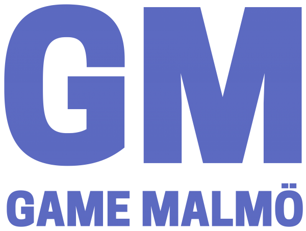 Logo Game Malmö, GM - gamemalmo.se - @gamemalmo gamemalmö gamemalmo